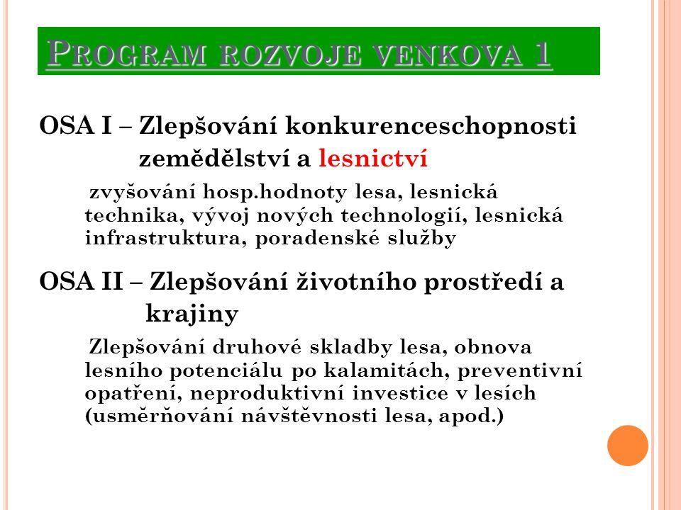 Program rozvoje venkova 1