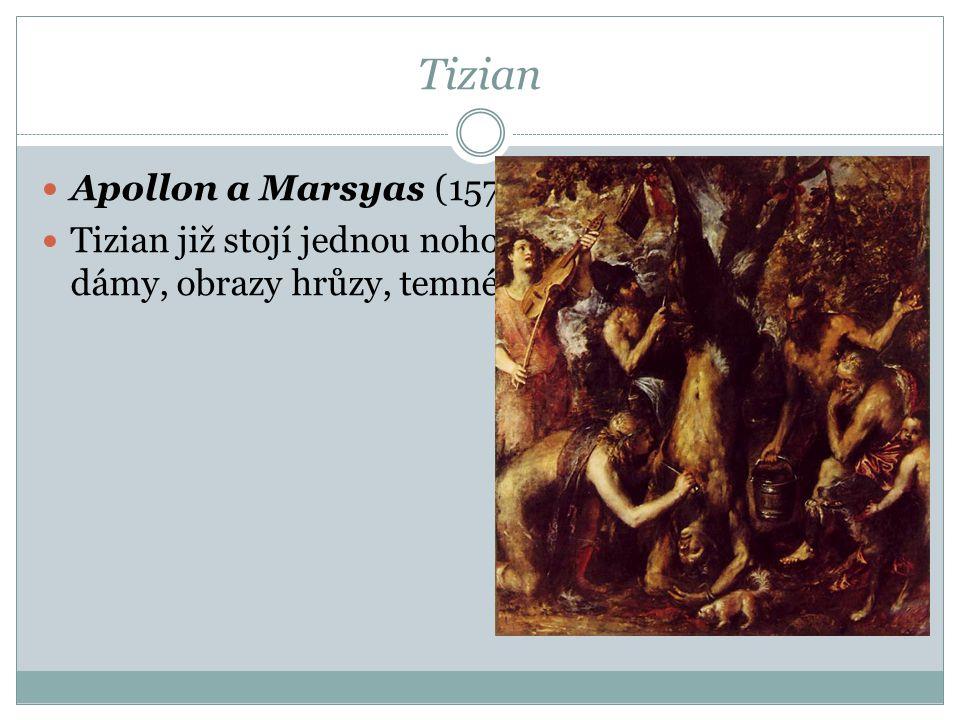 Tizian Apollon a Marsyas (1570–1576)