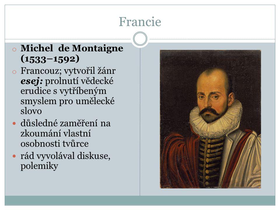 Francie Michel de Montaigne (1533–1592)