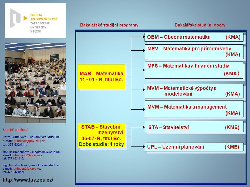 OBM – Obecná matematika (KMA)