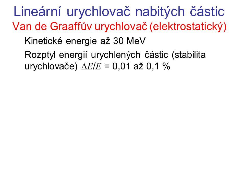 Lineární urychlovač nabitých částic