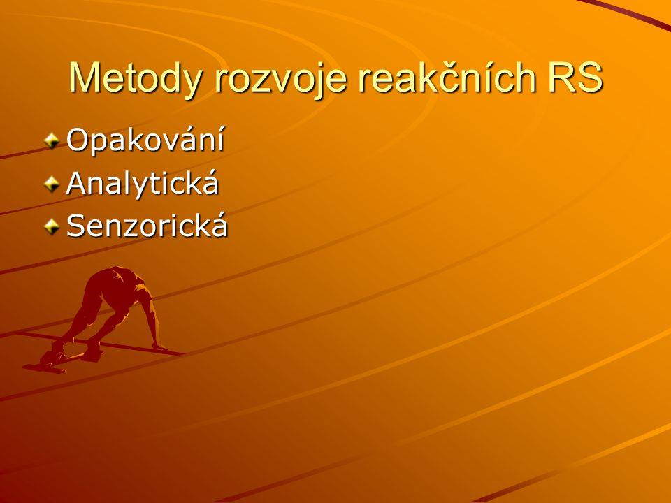 Metody rozvoje reakčních RS