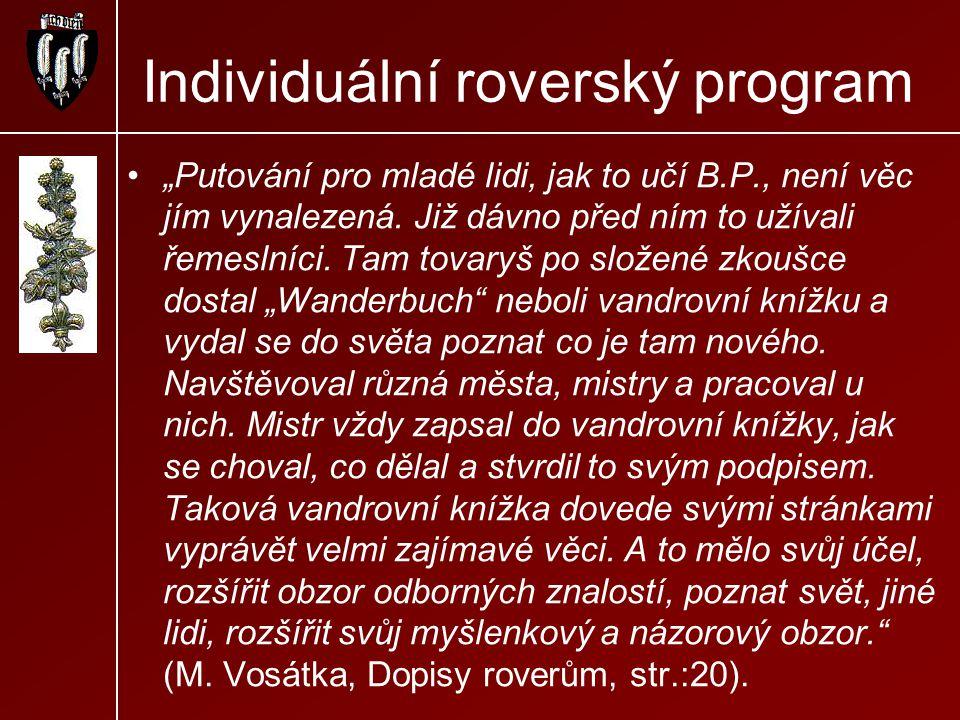 Individuální roverský program