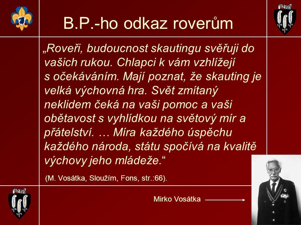 B.P.-ho odkaz roverům