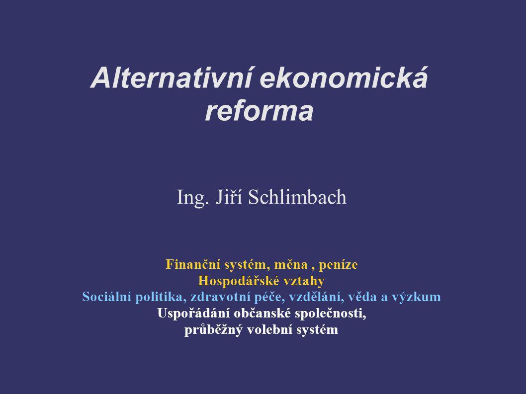 Alternativní ekonomická reforma
