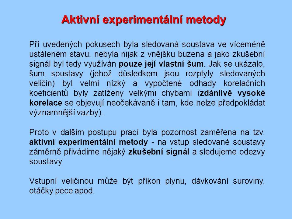 Aktivní experimentální metody