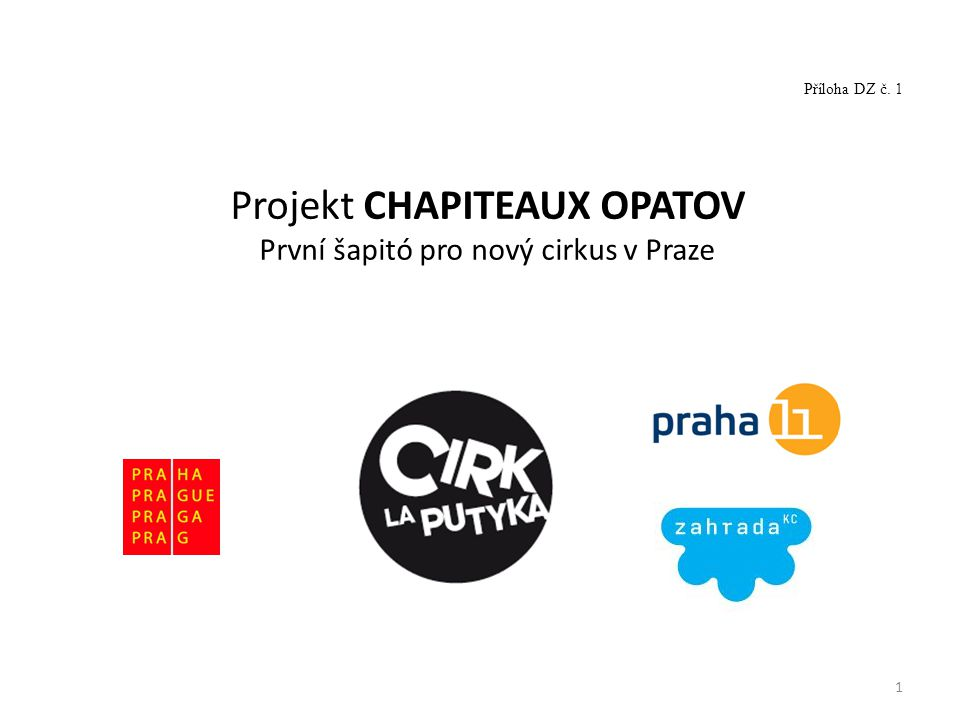 Projekt CHAPITEAUX OPATOV