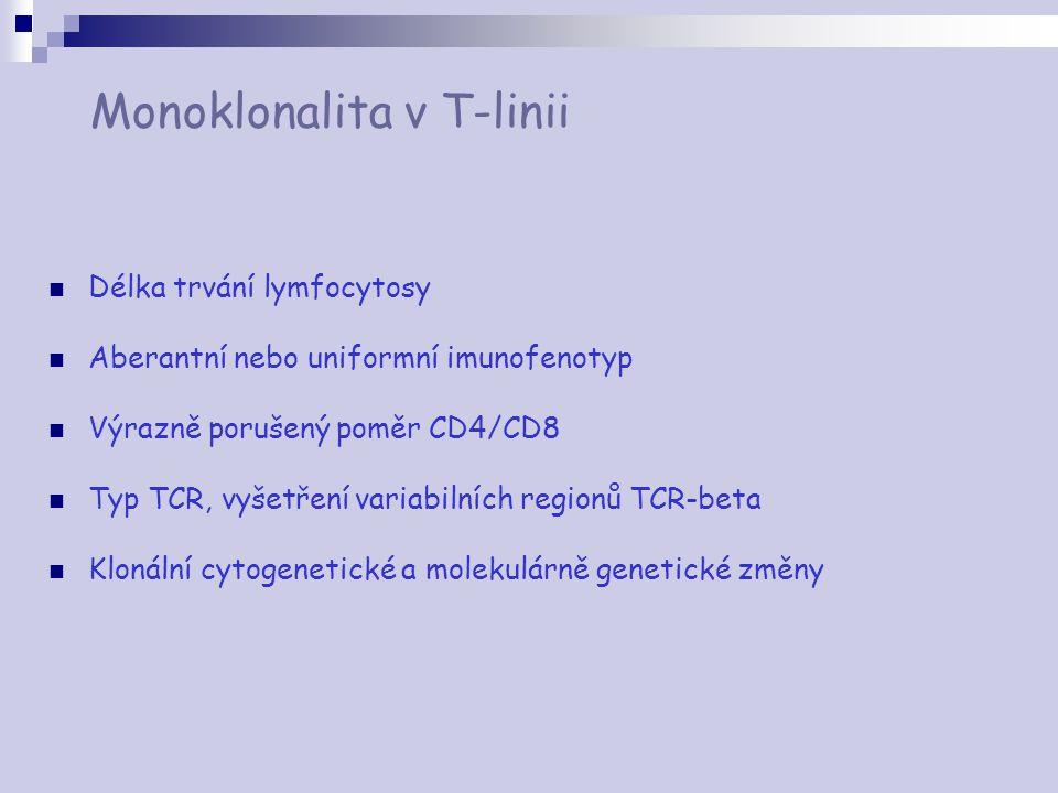 Monoklonalita v T-linii