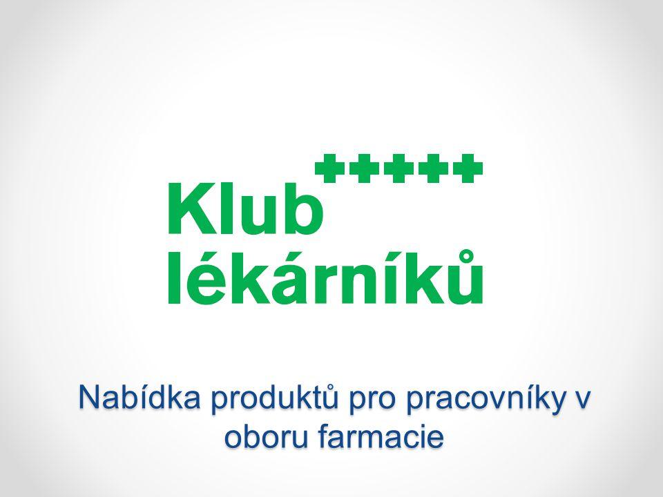 Nabídka produktů pro pracovníky v oboru farmacie