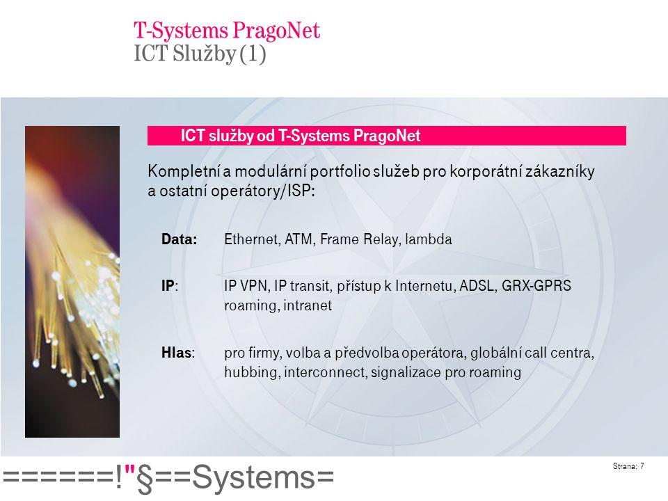 T-Systems PragoNet ICT Služby (1)