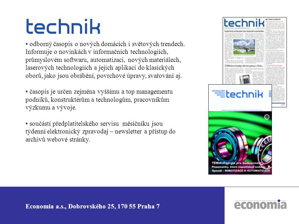 • odborný časopis o nových domácích i světových trendech
