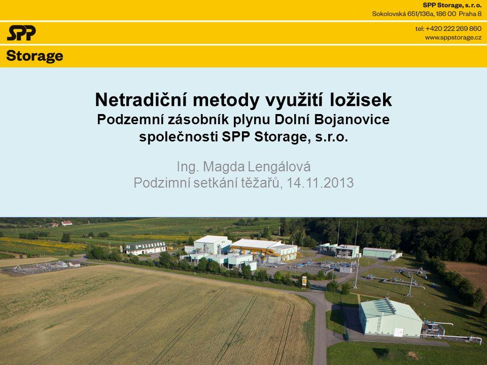 Ing. Magda Lengálová Podzimní setkání těžařů, 14.11.2013