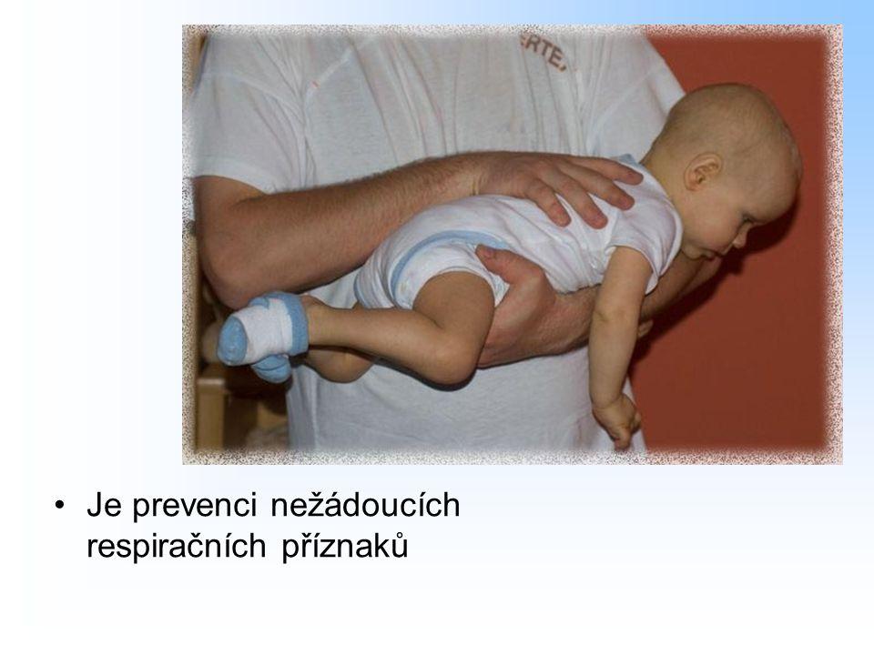 Je prevenci nežádoucích respiračních příznaků
