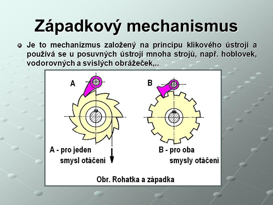 Západkový mechanismus