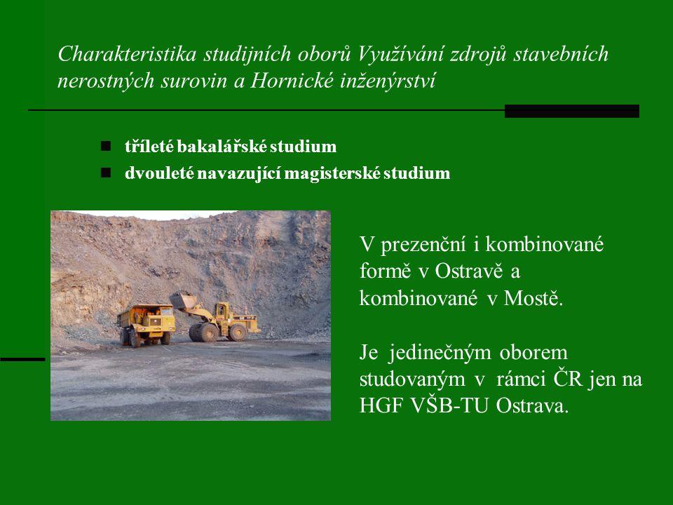 V prezenční i kombinované formě v Ostravě a kombinované v Mostě.