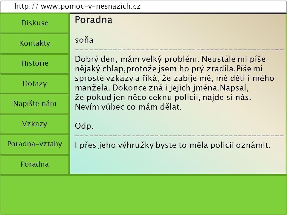 http:// www.pomoc-v-nesnazich.cz