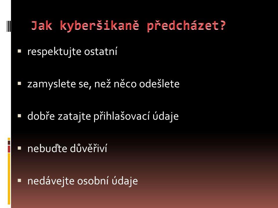 Jak kyberšikaně předcházet