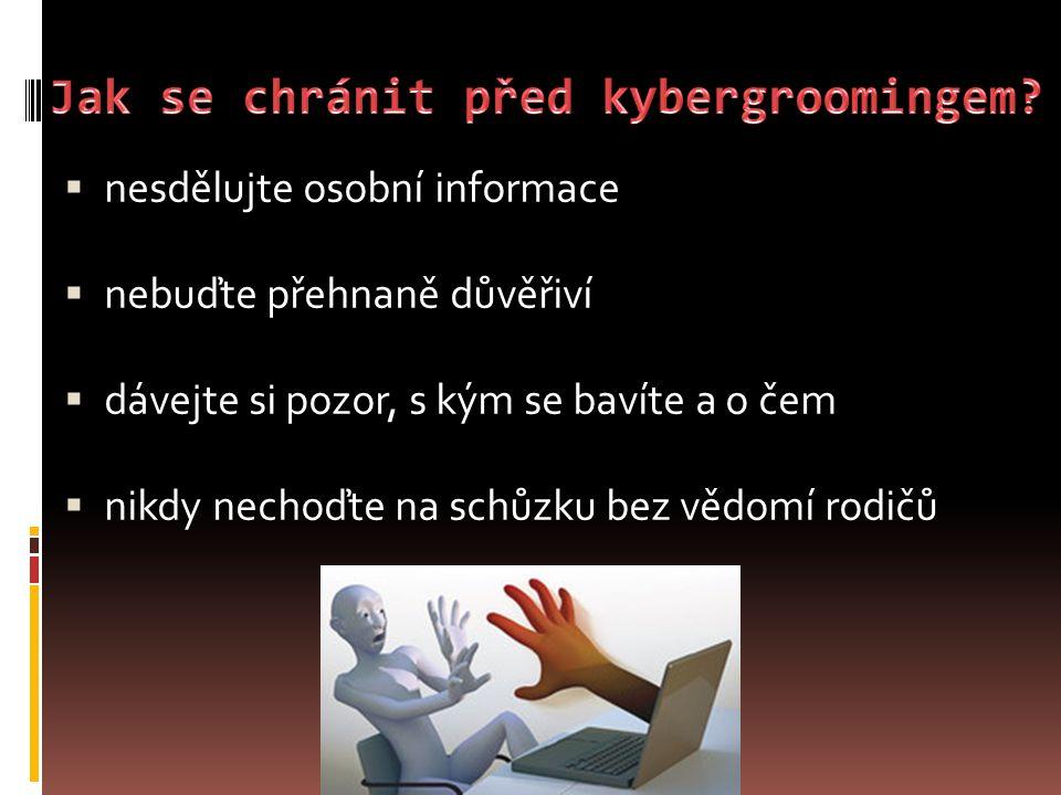 Jak se chránit před kybergroomingem
