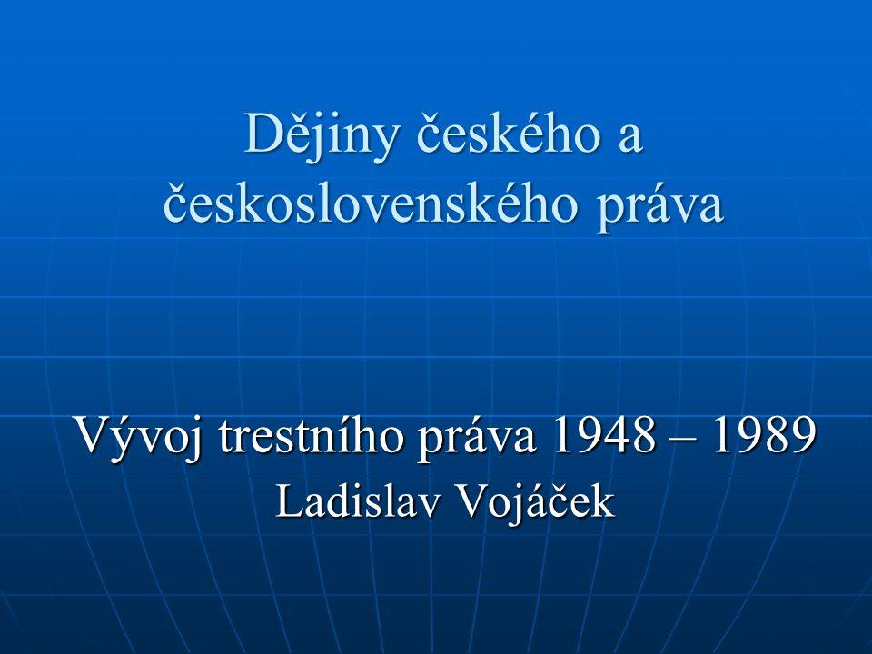 Dějiny českého a československého práva