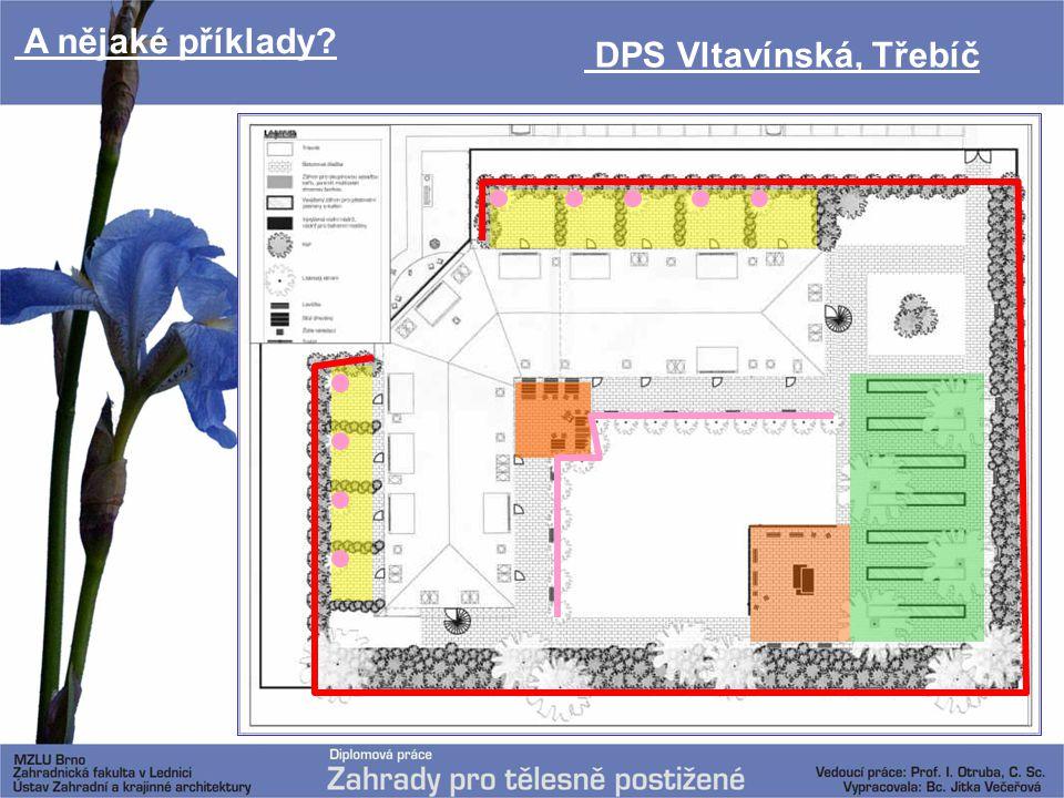 A nějaké příklady DPS Vltavínská, Třebíč