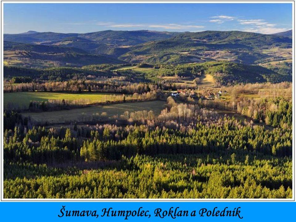 Šumava, Humpolec, Roklan a Poledník