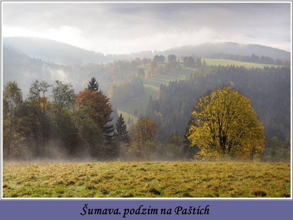 Šumava. podzim na Paštích