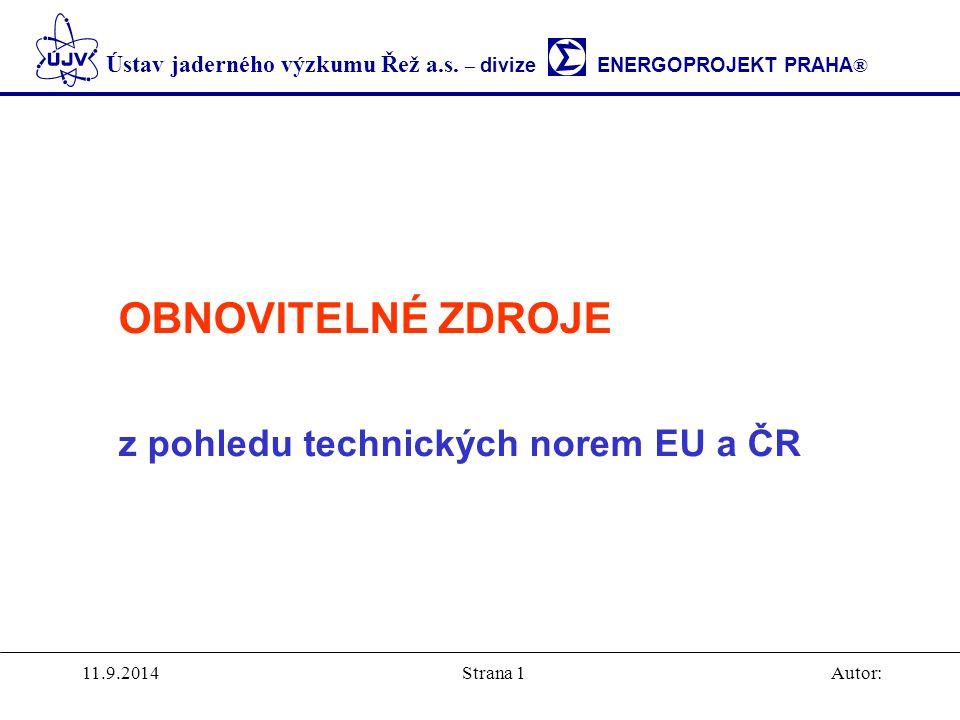 z pohledu technických norem EU a ČR