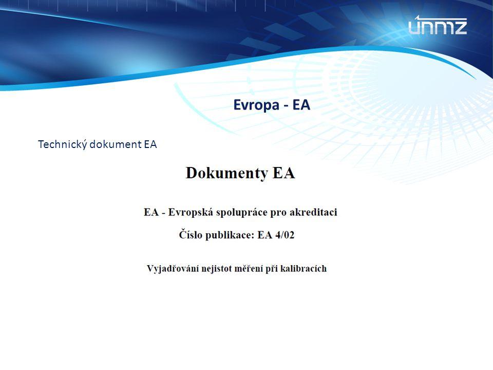 Evropa - EA Technický dokument EA