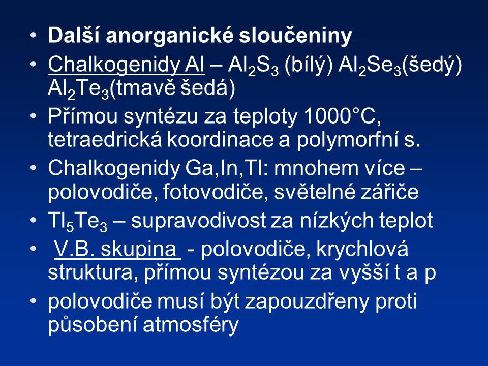 Další anorganické sloučeniny