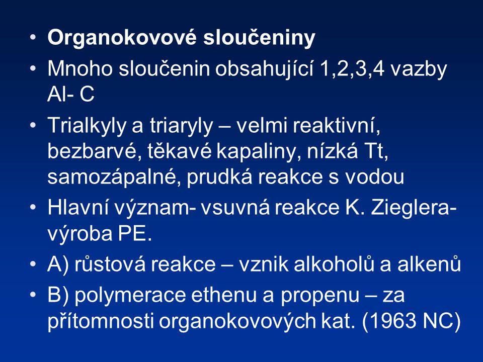 Organokovové sloučeniny