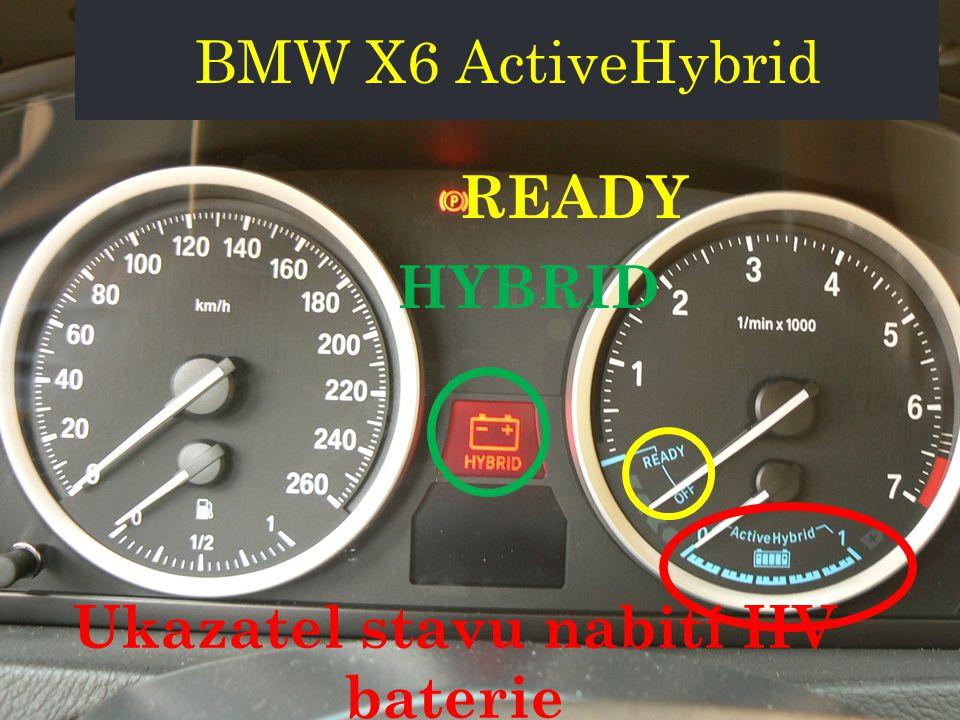 Ukazatel stavu nabití HV baterie