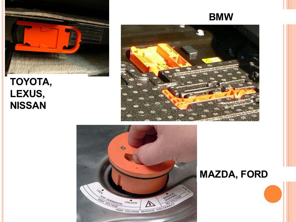 BMW TOYOTA, LEXUS, NISSAN MAZDA, FORD