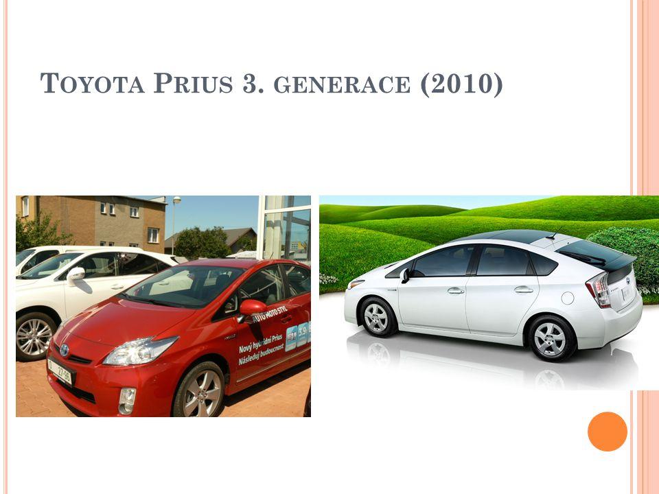 Toyota Prius 3. generace (2010)
