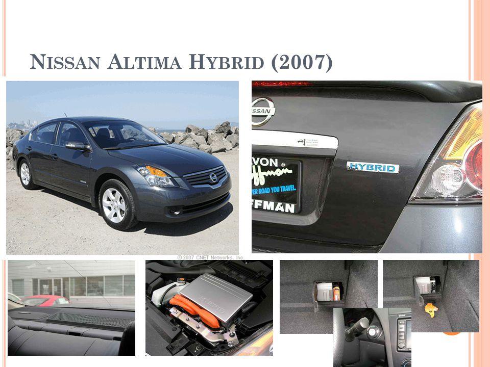 Nissan Altima Hybrid (2007)