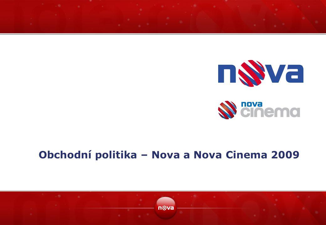 Obchodní politika – Nova a Nova Cinema 2009