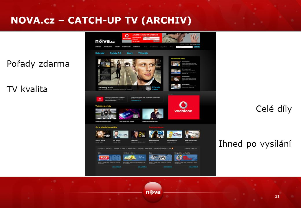 NOVA.cz – CATCH-UP TV (ARCHIV)