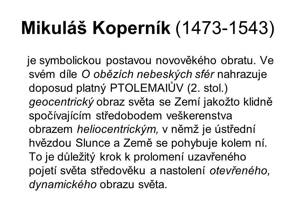 Mikuláš Koperník (1473-1543)