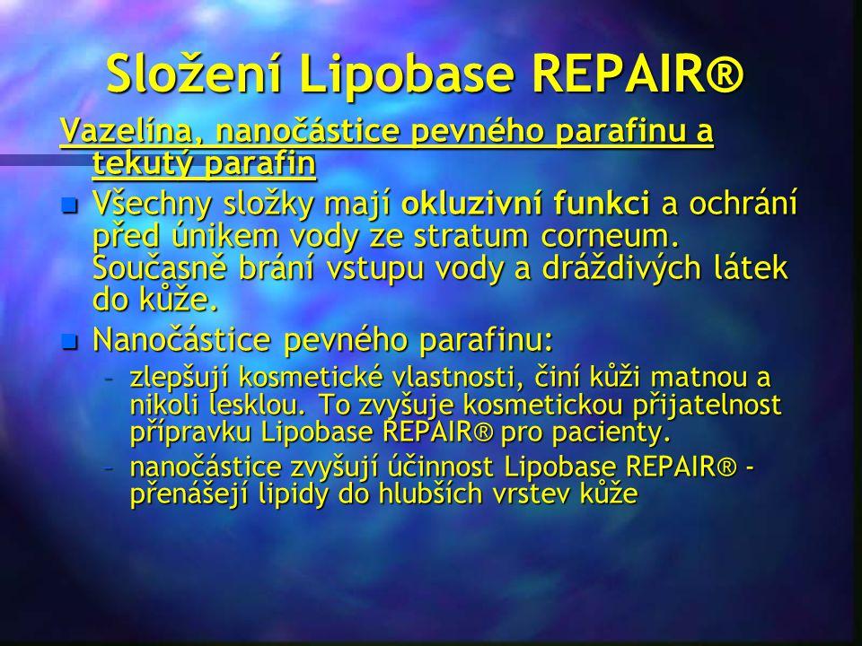 Složení Lipobase REPAIR®