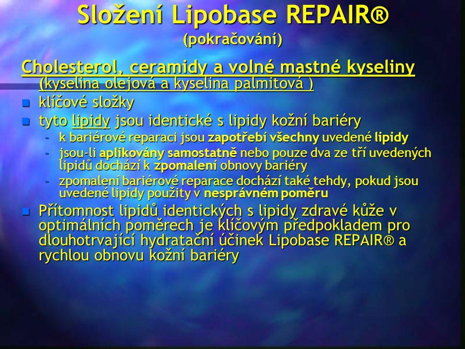 Složení Lipobase REPAIR® (pokračování)