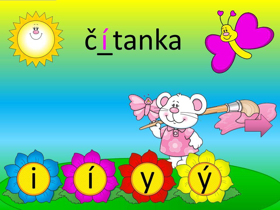 č_tanka í