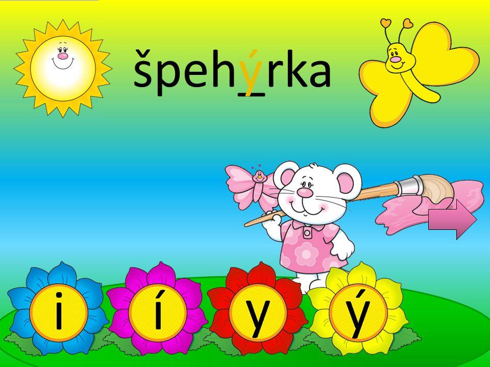 špeh_rka ý
