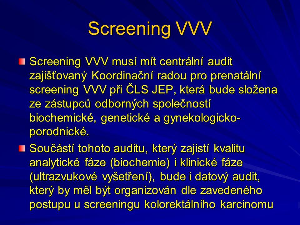Screening VVV