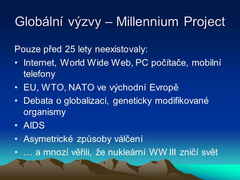 Globální výzvy – Millennium Project