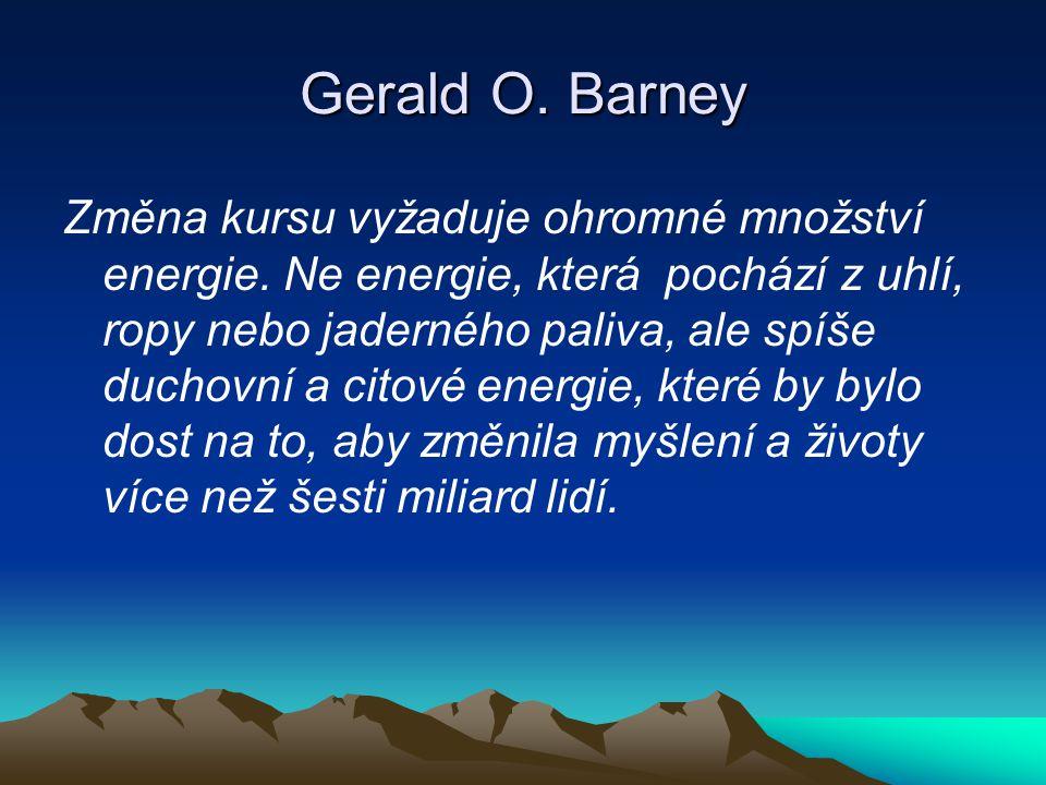 Gerald O. Barney