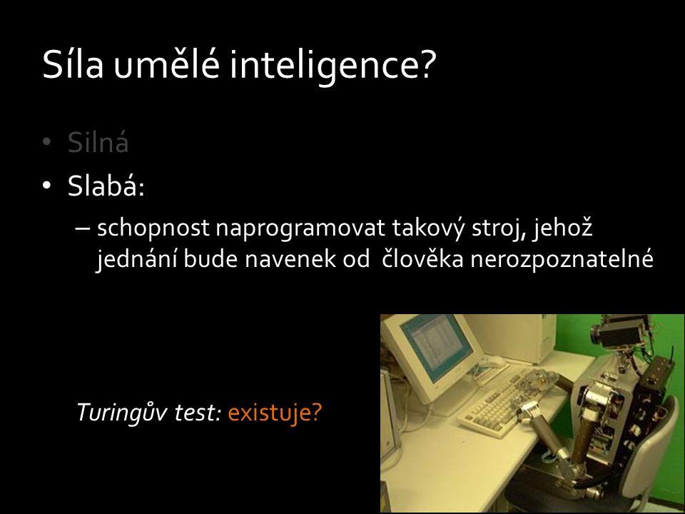 Síla umělé inteligence
