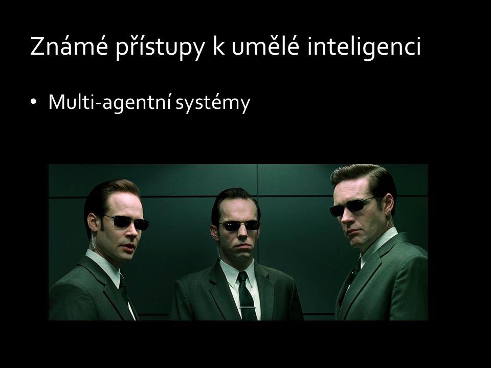 Známé přístupy k umělé inteligenci