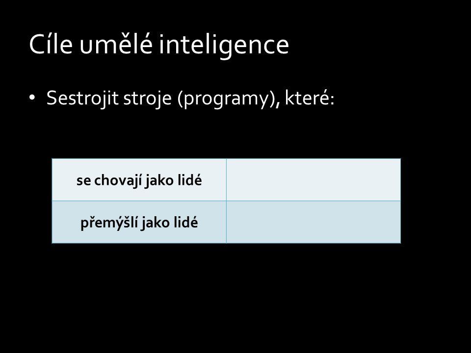 Cíle umělé inteligence