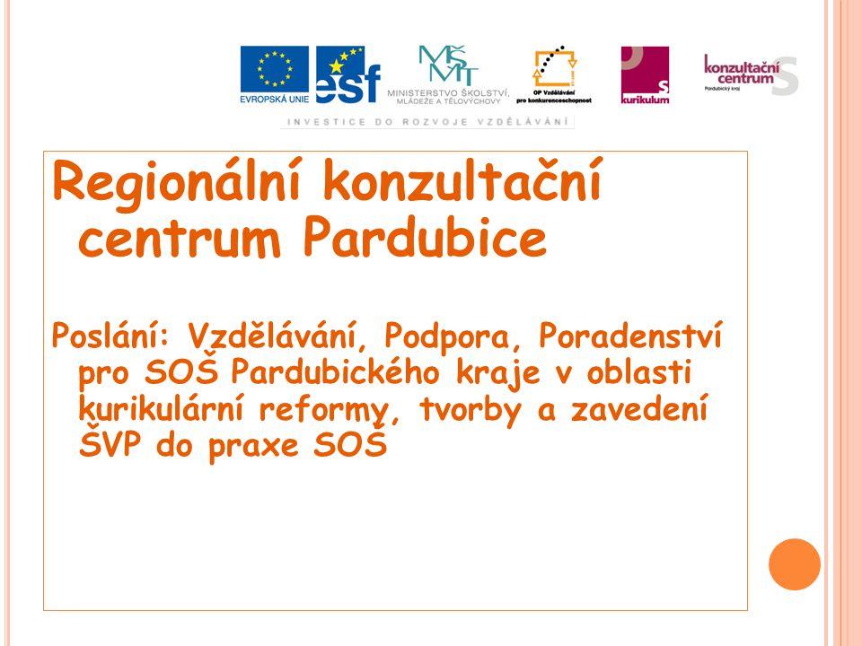 Regionální konzultační centrum Pardubice