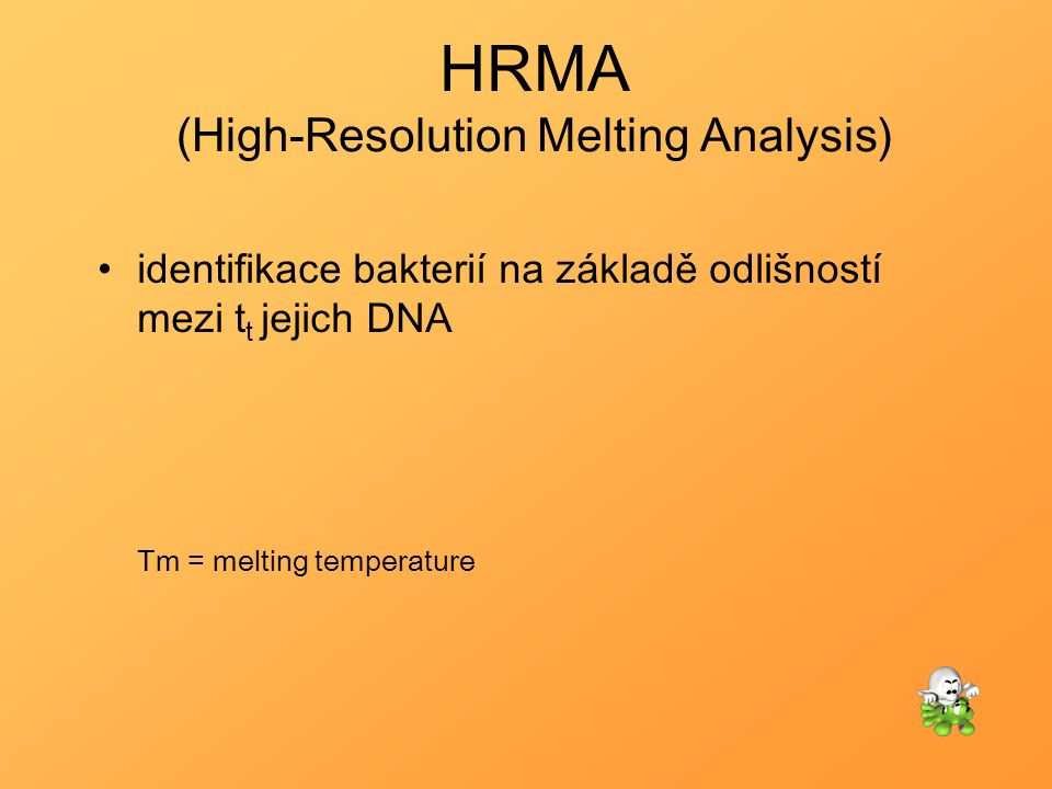 HRMA (High-Resolution Melting Analysis)
