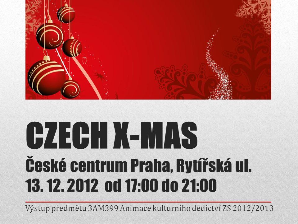 Výstup předmětu 3AM399 Animace kulturního dědictví ZS 2012/2013